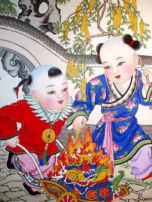 中国传统年画珍赏 - 美妙 - ☆美妙的博客☆向往、憧憬 品尝、美妙人生