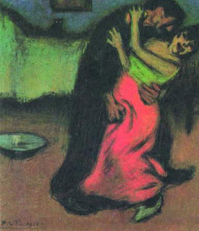 毕加索与和平鸽 图高清图片