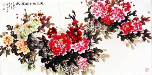 国色天香----牡丹名家杜先亮