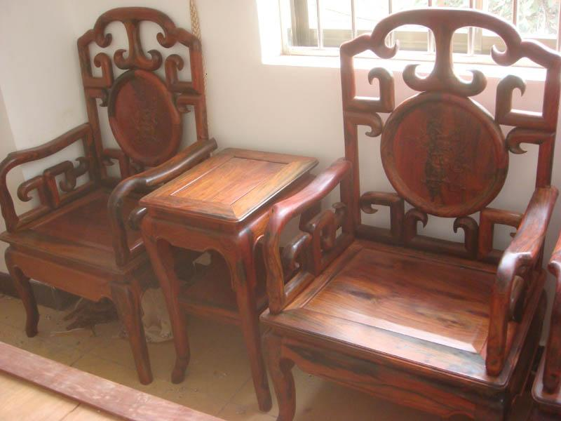 百年古树红木工艺品家具