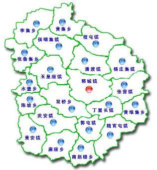 山东菏泽郓城县地图_关键词郓城地图
