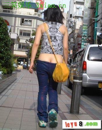 转贴~~~~低腰裤尽展女性妩媚
