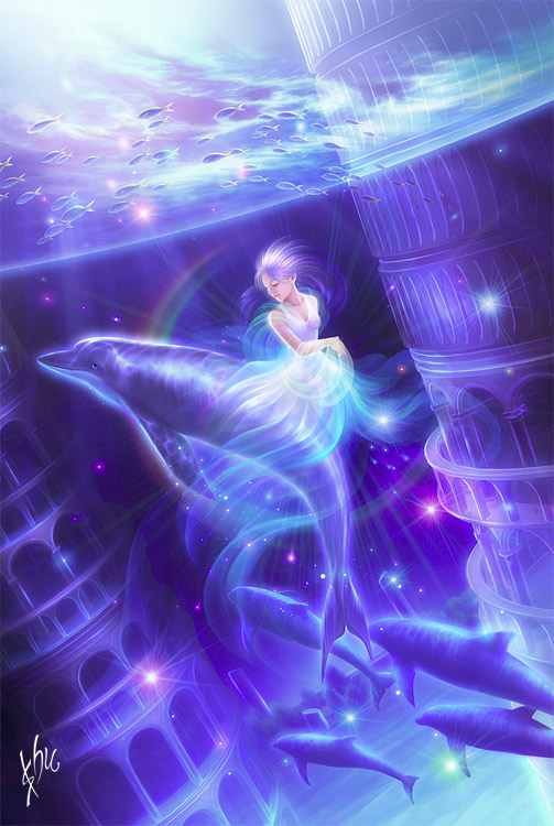 希腊神话月亮女神