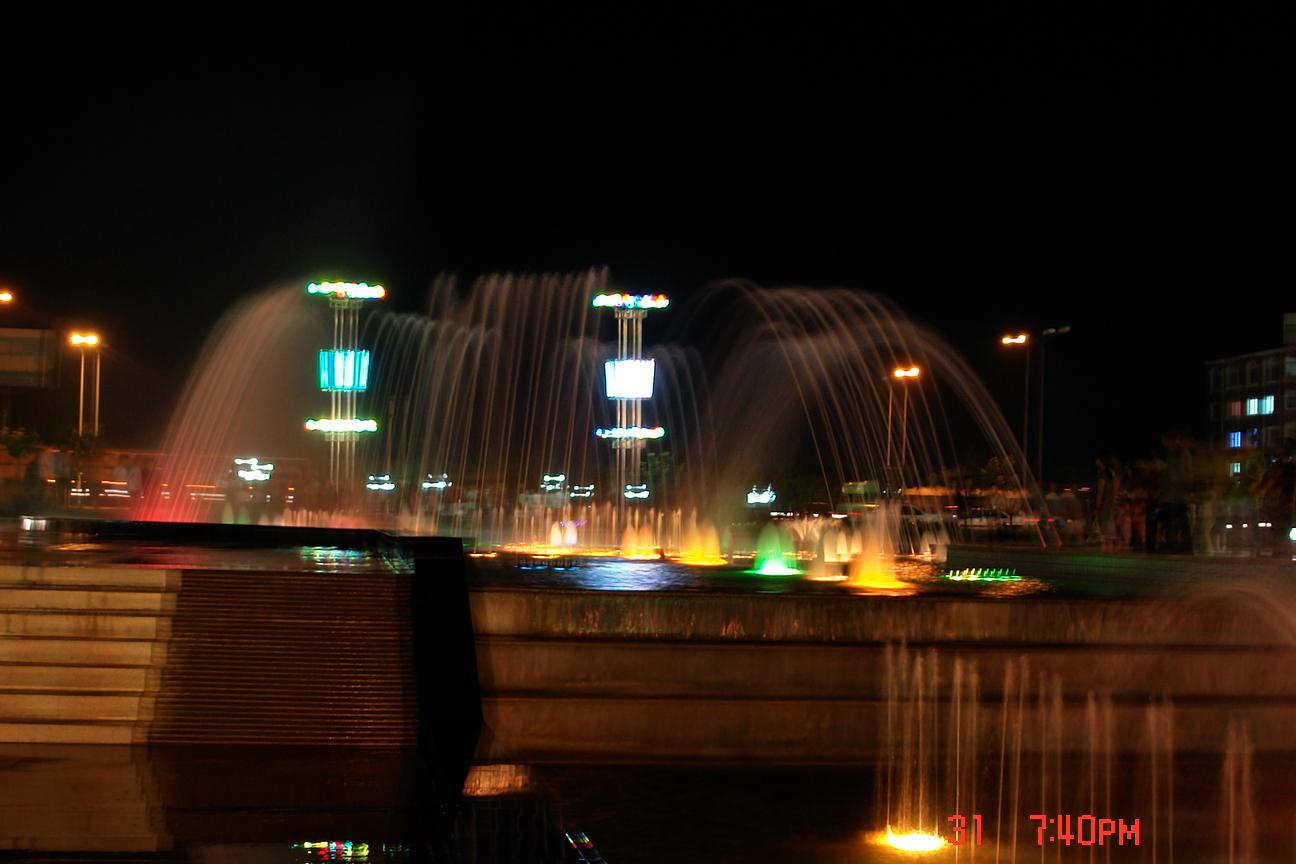 主题: 美丽的西环岛夜景