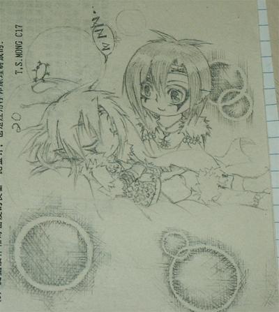 漫画(本人画噶圆珠笔同铅笔画)