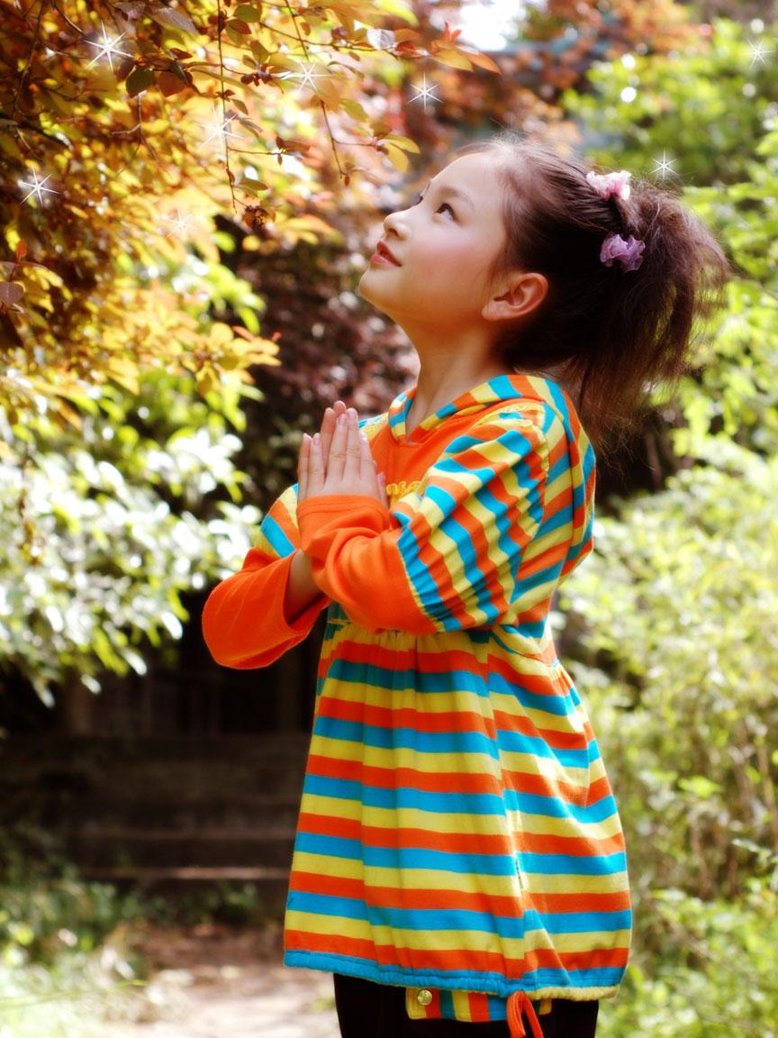 小朋友十岁生日照片