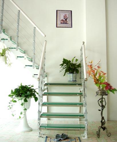 主题 复式楼房楼梯客厅设计效果图