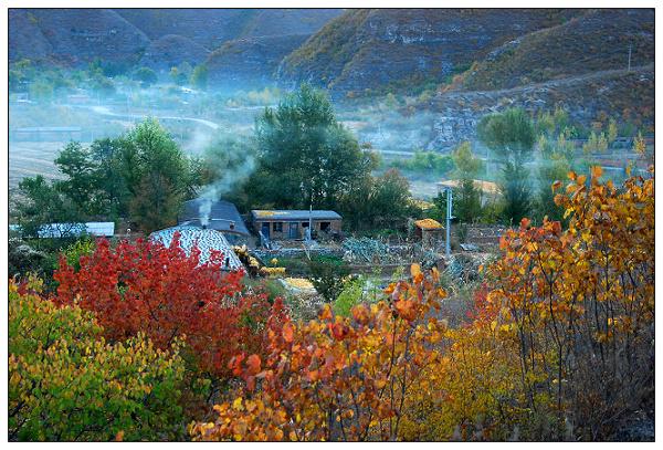 家乡的风景画_晴天日记的博客