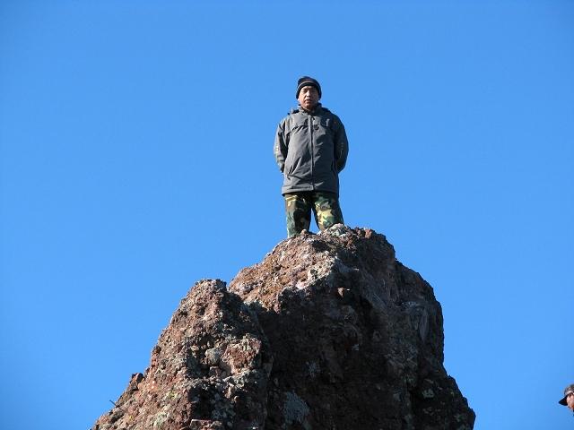 主题: 2008年12月13日登宁城必斯营子三棱山游经峰寺