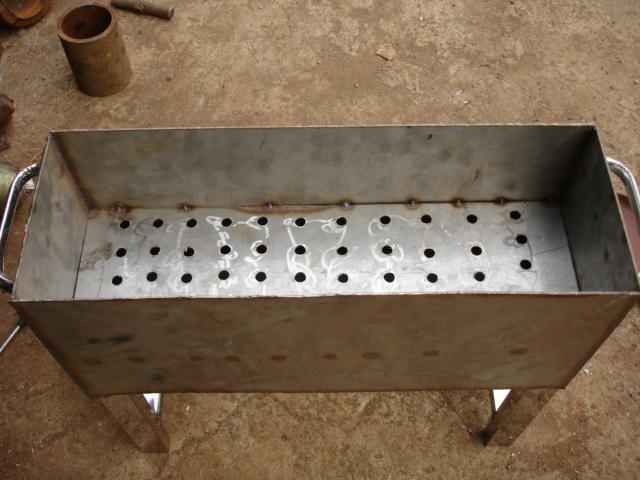 自制烧烤炉_木炭自制烧烤炉图纸