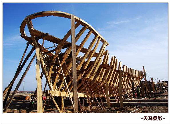 渔船龙骨结构图