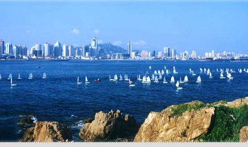 青岛的地理人文    青岛市陆地面积10654
