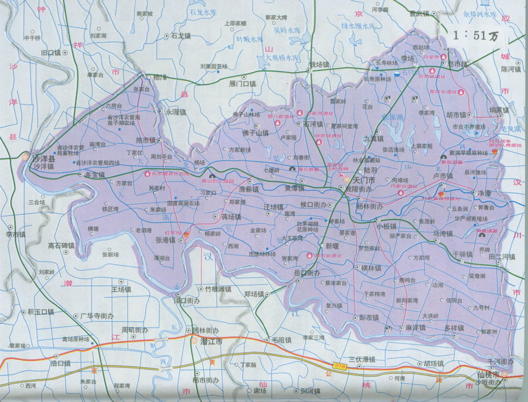 济南市平阴县地图