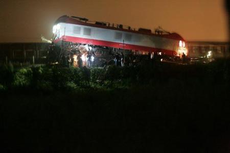 西安开往长春的K127次旅客列车