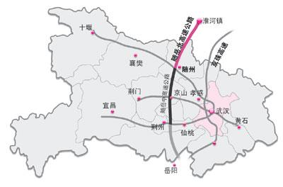 湖北襄阳市区地图