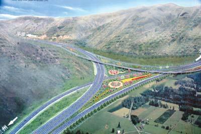 影响高速公路互通式立交选型的交通条件