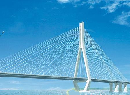 独塔斜拉桥结构体系