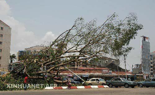 缅甸热带风暴死亡人数升至22464人