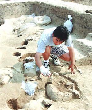 湖北孝感发掘出5000年前古城(图)