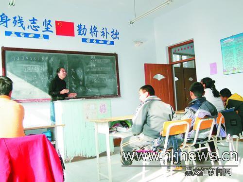 佳木斯市特殊教育中心伦涛校长告诉记者