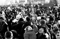 北京60余万人初一逛庙会 外地游客明显增加