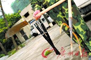 广州40多名暴徒袭击世界大观开枪打伤1人