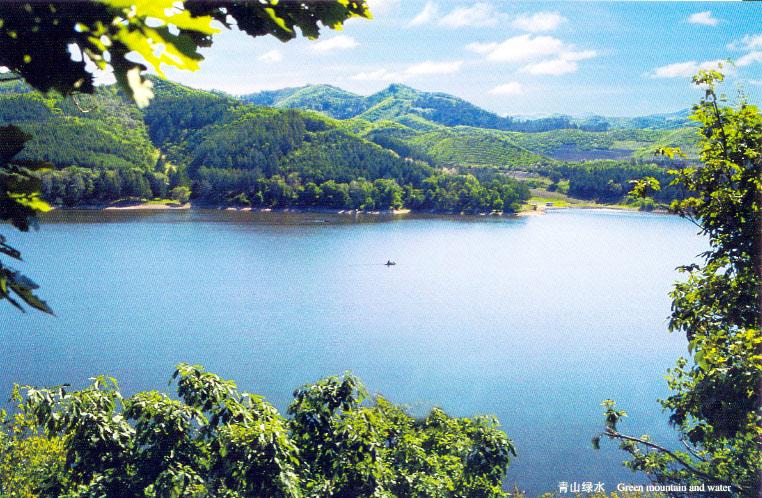 位于西丰县金星乡的宝兴水库风景区