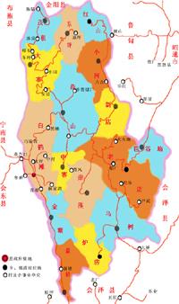 巧家旅游地图,绥江旅游图片