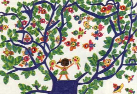 ...》 中国儿童环保 画面输   儿童画作品_儿童画春节获奖作