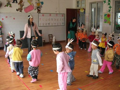 资源县机关幼儿园举行教学比武活动