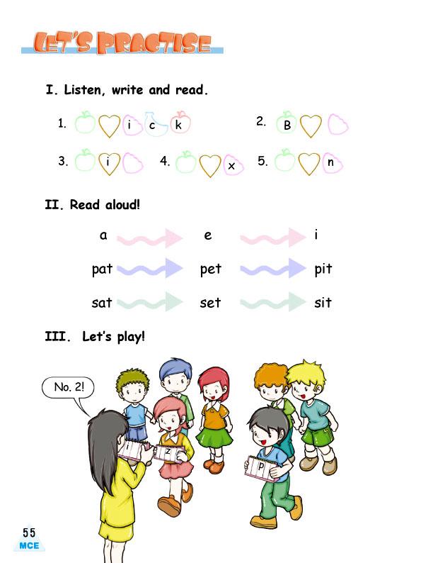 用小动物描述数字的英语海报