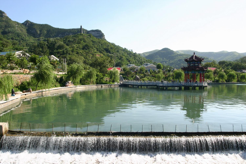 章丘三王峪山水风景园